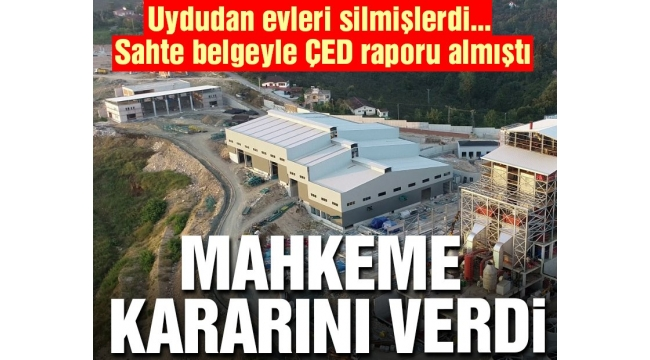 TRABZONDA MÜHENDİSLİK FİRMASI UDU GÖRÜNTÜLERİNİ SİLDİ ,SAHTE ÇED RAPORU ALINDI !!!