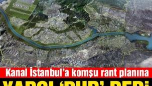 Kanal İstanbul'a komşu alanın planlarına yürütmeyi durdurma kararı